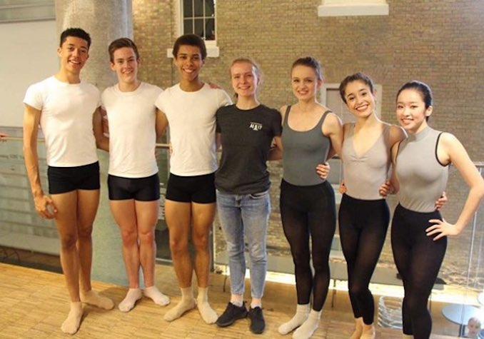 Here I am with my Assemblée Internationale cast in June 2017. I miss dancing with them already.