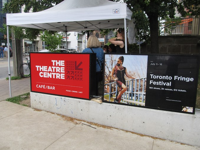 Fringe Festival venue The Theatre Centre found a home in the historic Carnegie Library building at 1115 Queen Street West in March 2014.