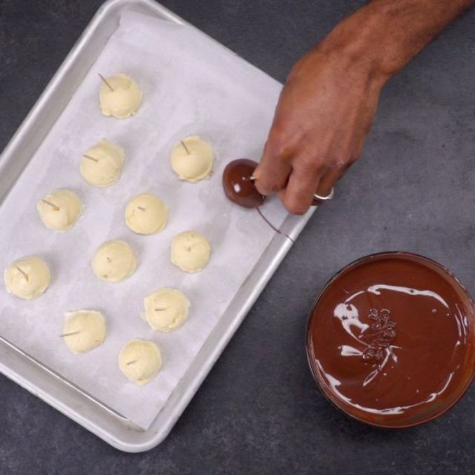 Salted Caramel Truffle Bombs
