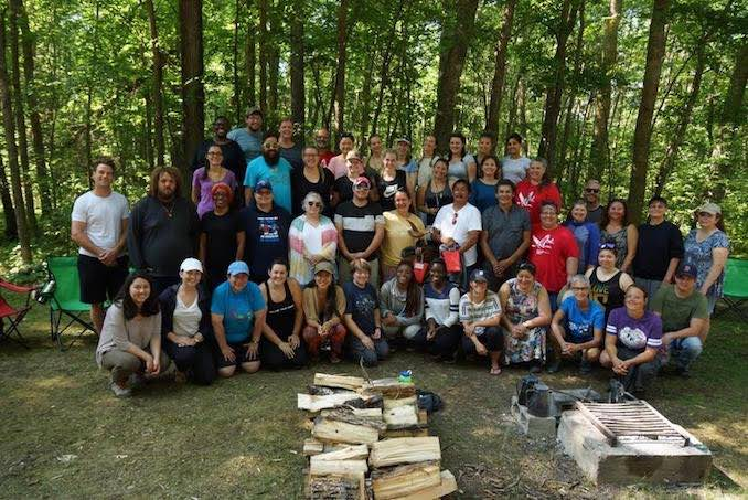 Teach for Canada recently completed a community visit at Big Grassy River First Nation during the organization's Summer Enrichment Program for teachers, held July 15 to Aug 5 at Lakehead University in Thunder Bay.