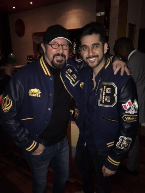 Me with Vinay Virmani star of Breakaway
