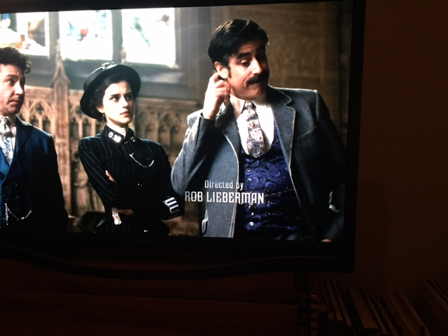 My title card from Houdini & Doyle