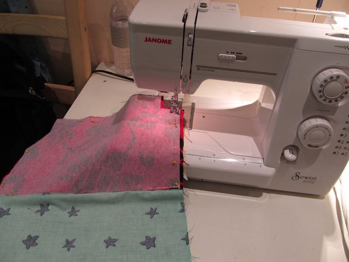 Sewing FUNdamentals class. It is such a fun challenge.