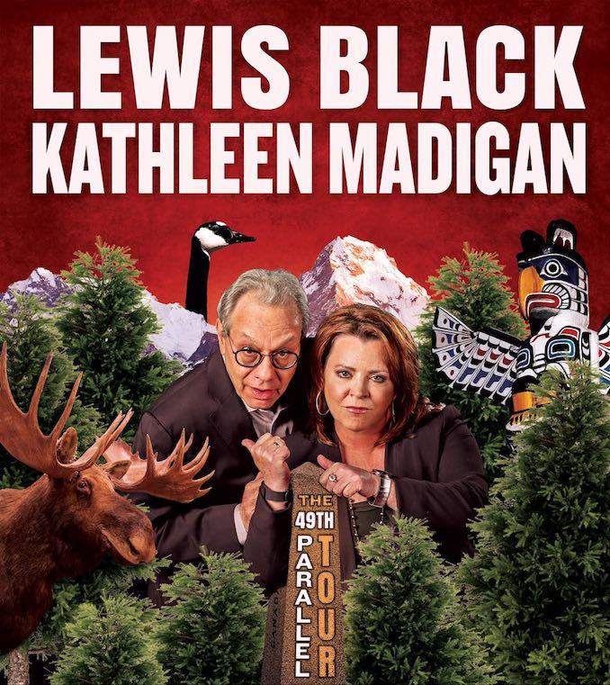 Lewis Black Kathleen Madigan