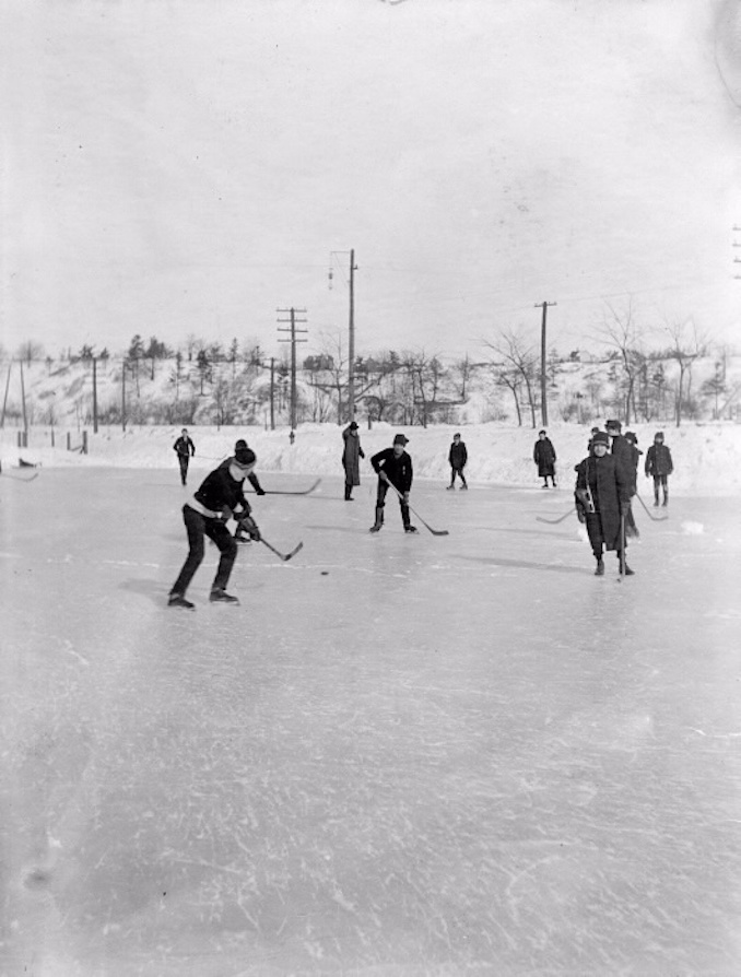 1900 - Riverdale Park - Old Hockey Photographs