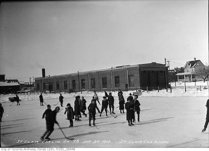 1915 - January 30 - St. Clair car barns