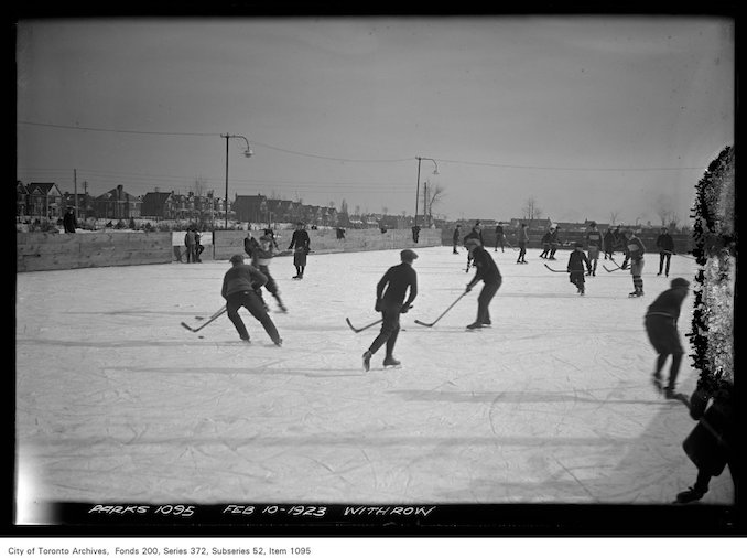 1923 - February 10 - Withrow Park — Ice Hockey
