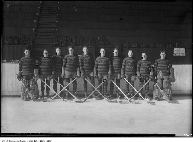 1927 - March 2nd - South Porcupine Hockey Team