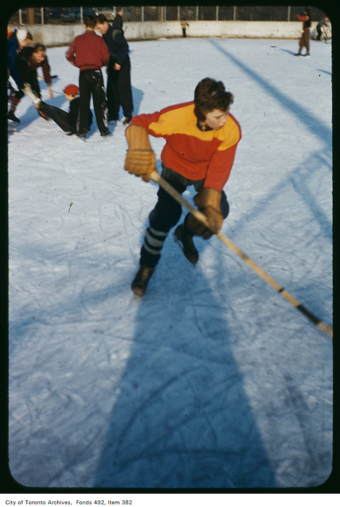 1950? - Ice hockey
