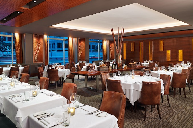 Day 1, Westin Book Cadillac Detroit Hotel features on-site restaurant ROAST