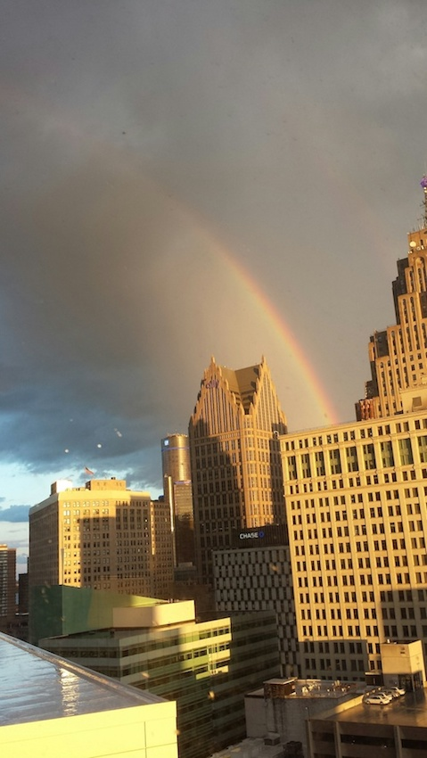 Day 1, an over the rainbow welcome to The Westin Book Cadillac Detroit Hotel