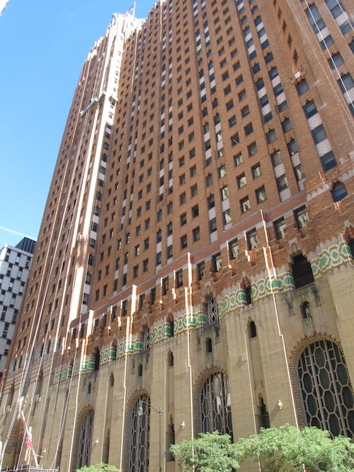 Day 3, walk downtown for stunning historic architecture. The Guardian Building, a national historical landmark.