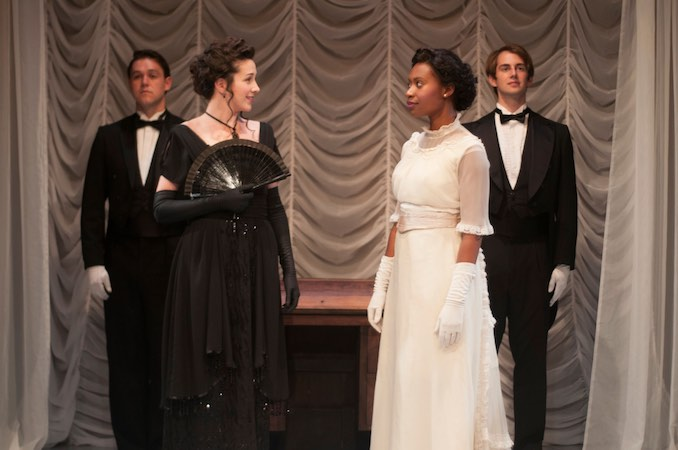 Malube_ In action as _Lady Chiltern_ in Wilde's 'An Ideal Husband' produced by Watermark Theatre & directed by Susan Ferley