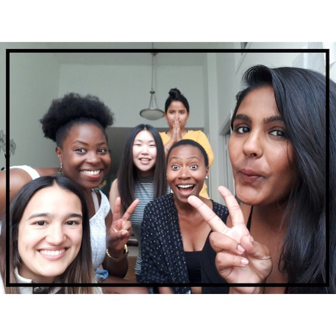 Mamito_ Hanging with the 'HERstories' crew at our first creative team meeting