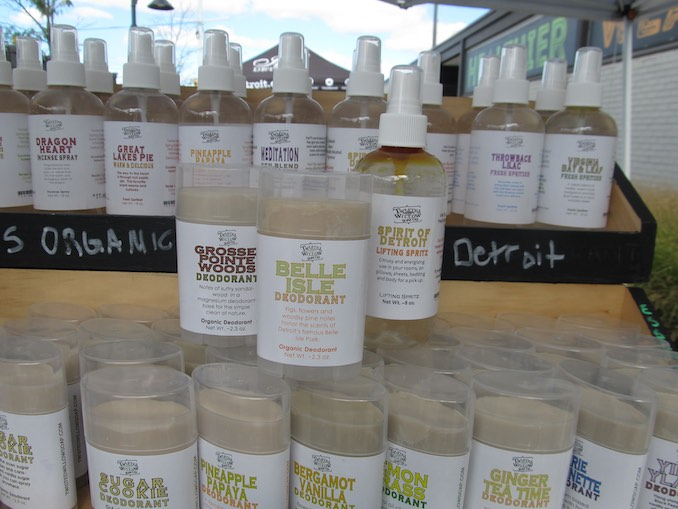 Shop Local at Detroit Eastern Market. Vendor, Twisted Willow Soap Co. Original merch!