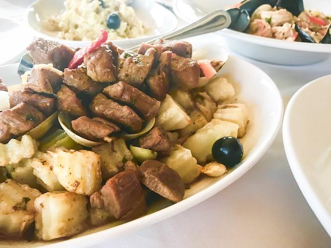 Carne de Porco a Alentejana