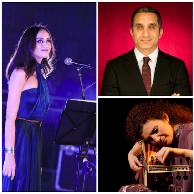 Faia Younan, Bassem Youssef, Waed Bouhassoun - Festival of Arabic Music & Arts