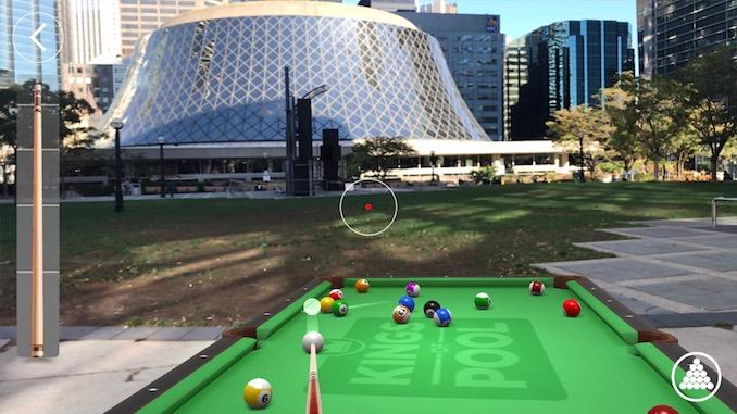 Kings of Pool - Augmented Reality