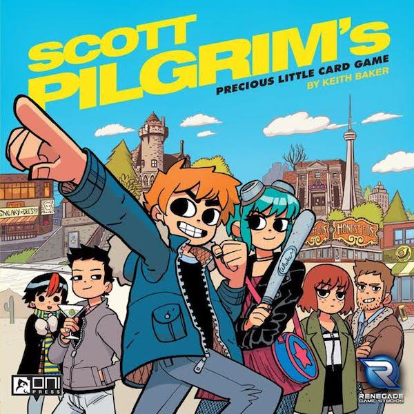 Scott Pilgrim Board Game