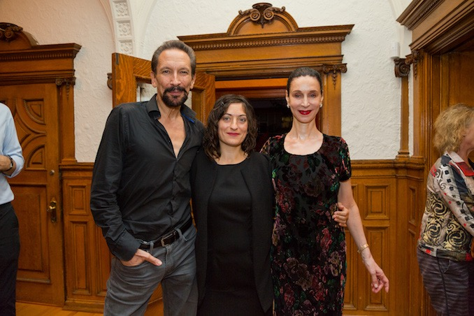 Elisa Citterio with Marshall Pynkoski and Jeannette Lajeunesse Zingg - Photo: Jeff Higgins