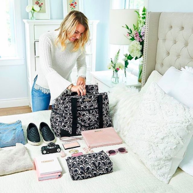 Nat packing for a weekend getaway