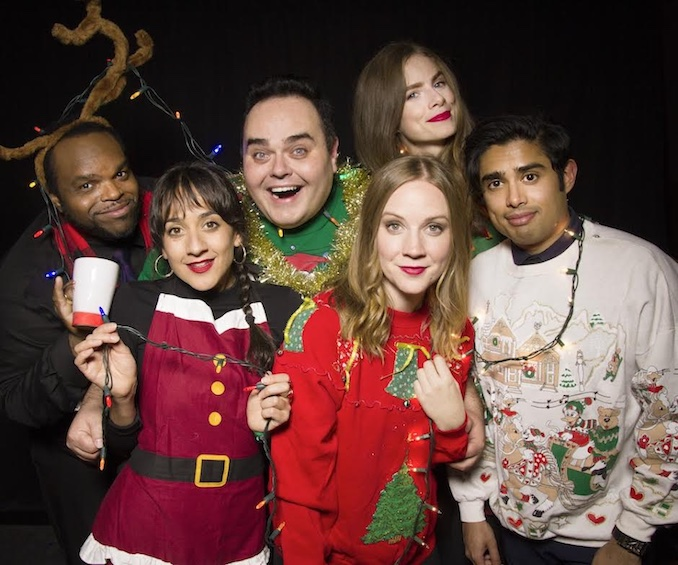 Sonja - Ugly Sweater - Second City Holiday Comedy