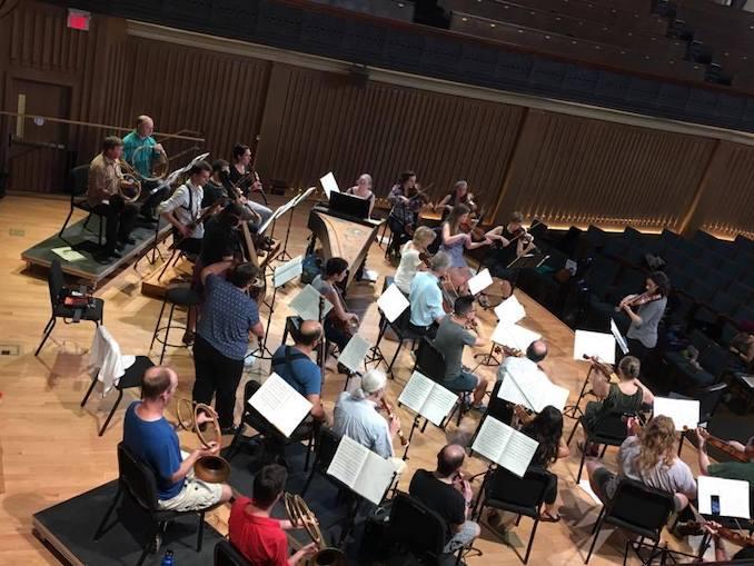 Tafelmusik rehearses for A Joyous Welcome