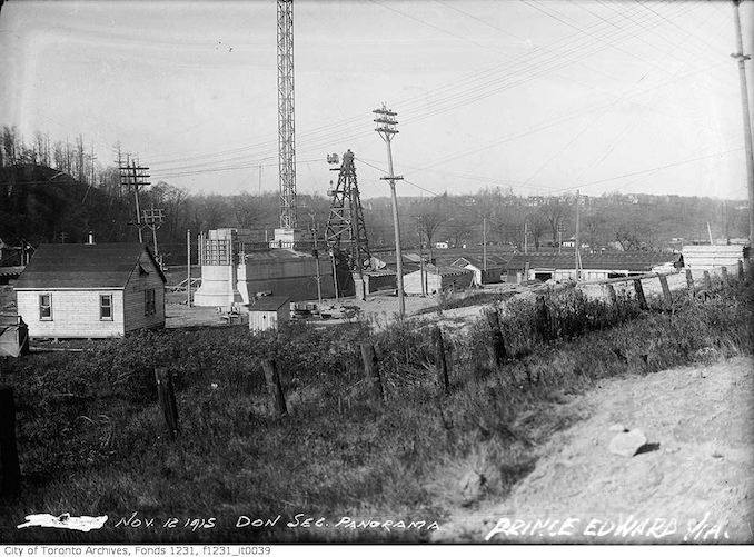 1915 - November 12 - Bloor Viaduct, Don Section