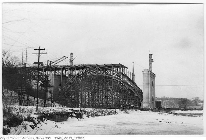 1916 - December 31 - Bloor Street Viaduct, east end