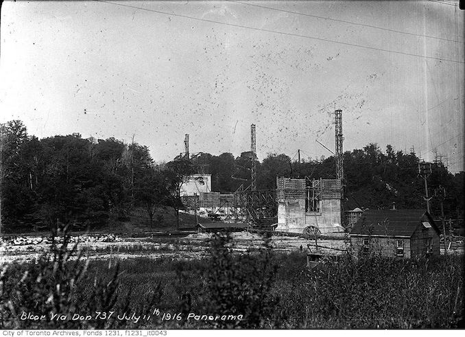 1916 - July 11 - Bloor Viaduct, Don section copy