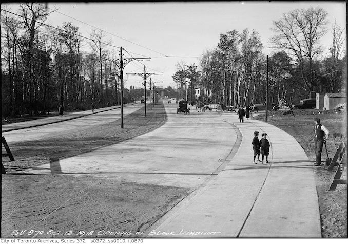 1918 - October 18 - Opening of Bloor Viaduct copy 2