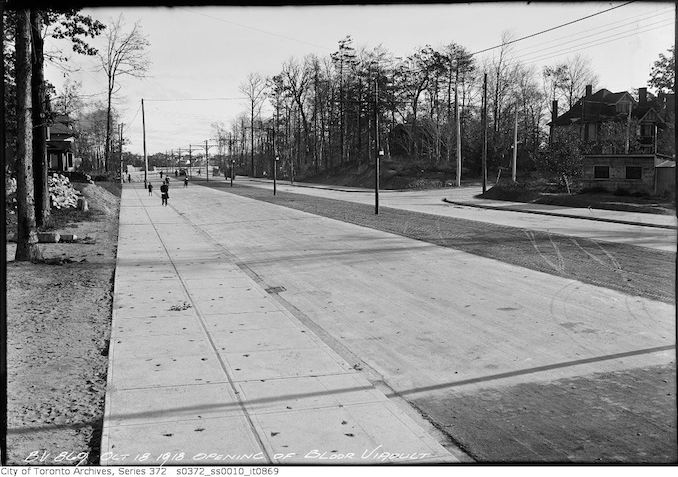 1918 - October 18 - Opening of Bloor Viaduct copy