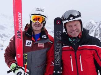 Alpine sk champions Manuel Feller & Marc Girardelli