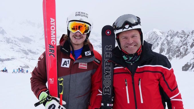 Alpine Sk Champions Manuel Feller Marc Girardelli Toronto Guardian
