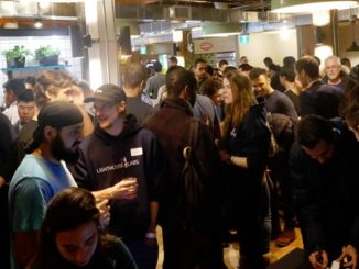 Two hundred technologists attended the HackerNest Tech Social in Toronto - 29 January 2018, Photo by RobC