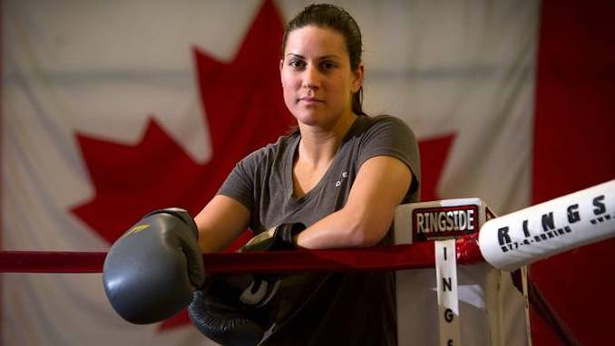 Mary Spencer - First Canadian woman to compete in the Olympics for boxing. Mary represented Canada at 75kg in the London 2012 Olympic Games. [Photo Courtesy of The Globe and Mail]