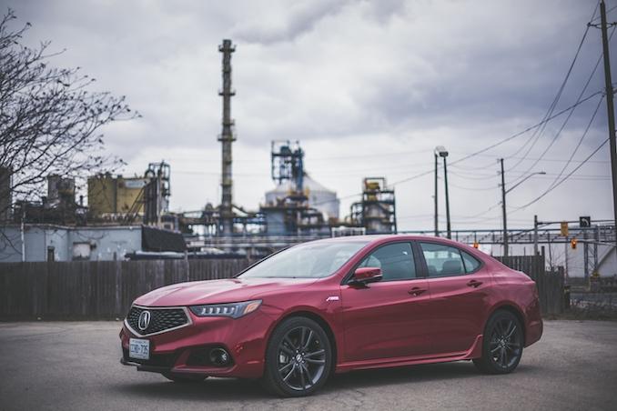2018 Acura TLX V6 SH-AWD Elite A-Spec