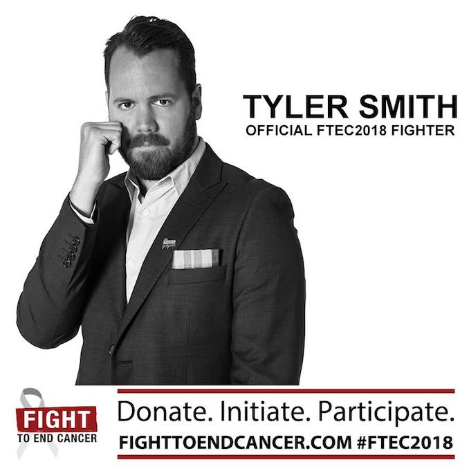 Tyler Smith Fight to End Caner 2018 Fighter