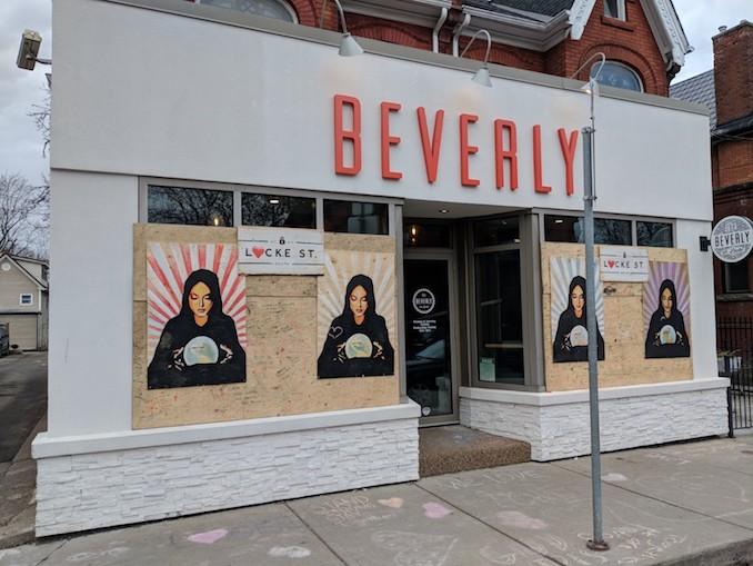 The Beverly #LoveLockeDay Hamilton