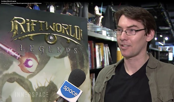 Jonathan Williams discusses Riftworld Legends on Innerspace