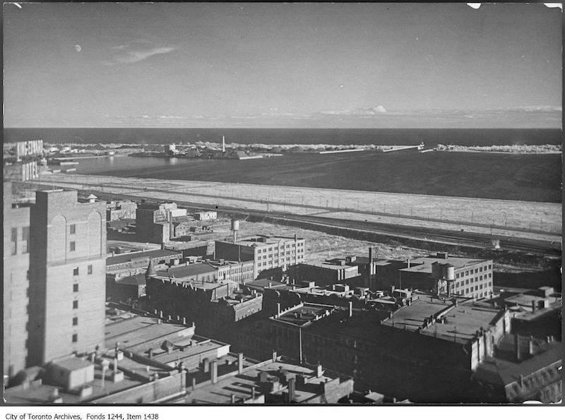 1926 - Waterfront from Royal Bank Building, King and Yonge streets, looking southeast