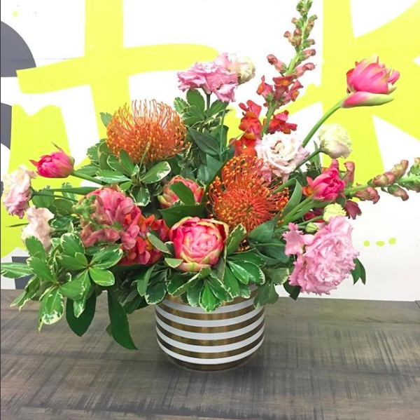 Spring is in season, and Stok Floral creates gorgeous spring floral arrangements