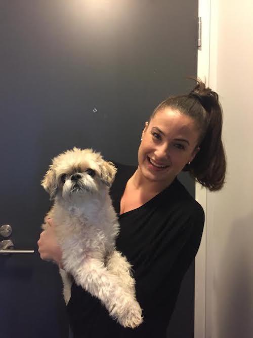 me & my pup Obi