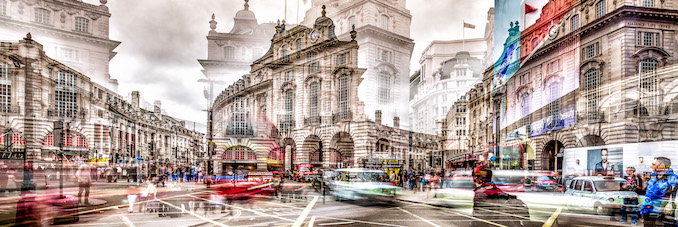 Piccadilly London, England, 2014 30 x 90 in | 76 x 229 cm 40 x 120 in | 102 x 305 cm