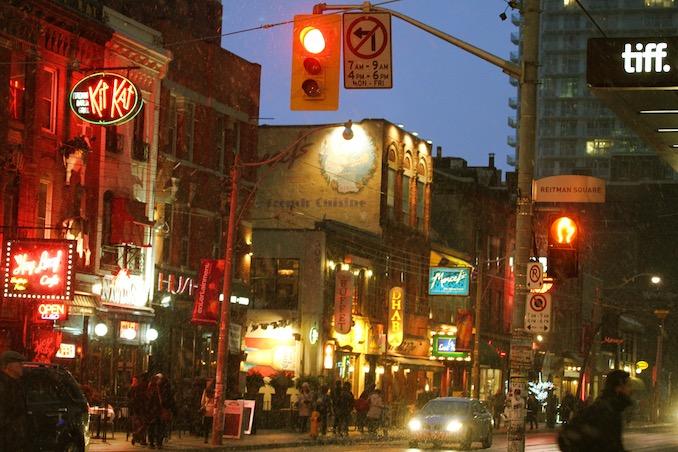 Entertainment District Toronto byDanielle Scott