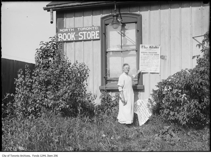 1922 - North Toronto Book-Store