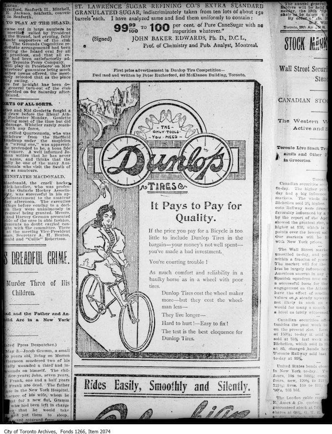 1924 - Copy of Dunlop Tire Ad
