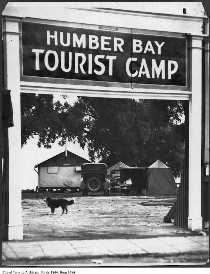 Vintage Ontario - 1924 - Humber Bay Tourist Camp