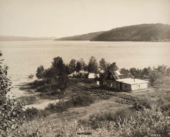 Vintage Ontario - 1925 - H. Armstrong Roberts - Nipigon Cabin