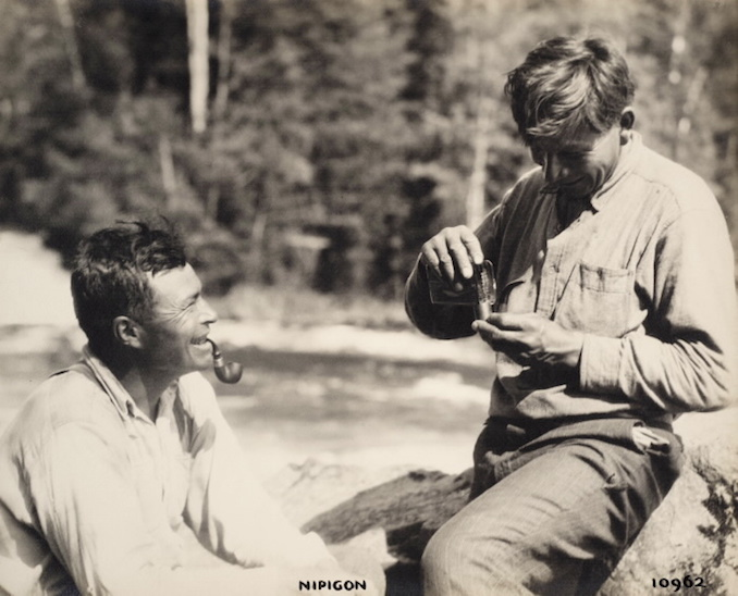 1925 - H. Armstrong Roberts - Nipigon - Men Smoking